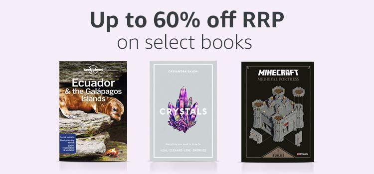 Up to 60% off RPP on select books