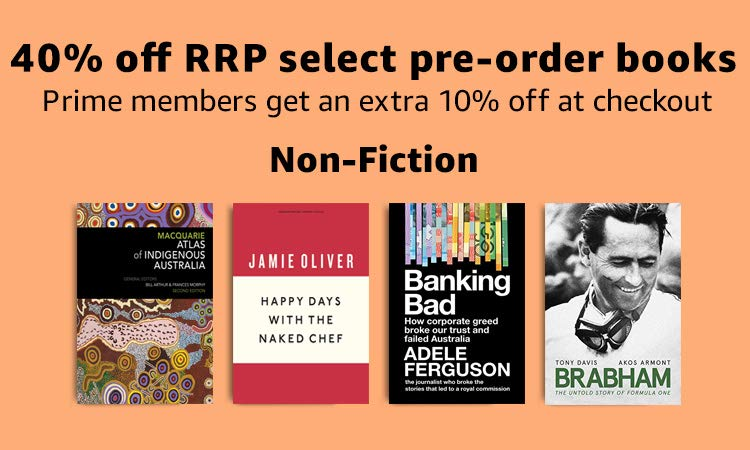 40% off RRP on select Non-Fiction pre-orders
