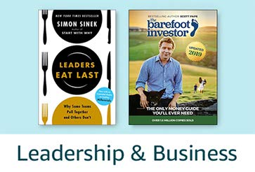 Books Gift Guide: Leadership & Business books