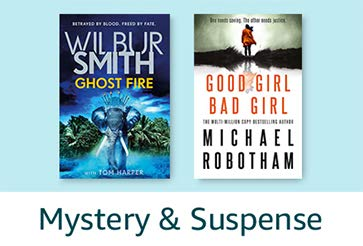 Books Gift Guide: Mystery & Suspense