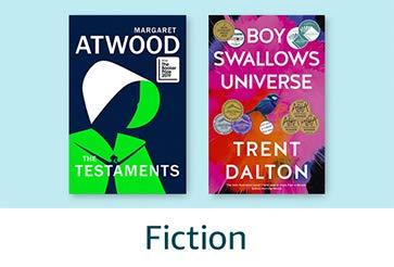 Books Gift Guide: Fiction books