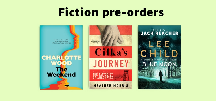 Fiction pre-orders