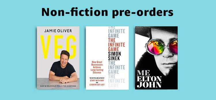 Non-fiction pre-orders