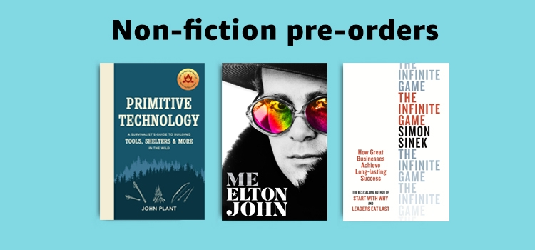 Non-fiction pre-orders