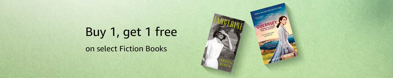 Buy 1, get 1 free on select Fiction books