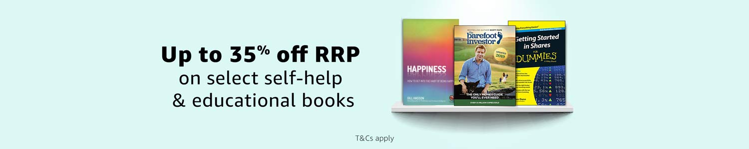 Save up to 35% off RRP on select self-help and educational books