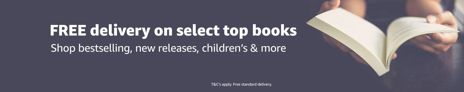 Free delivery and up to 50% off RRP on select best selling books