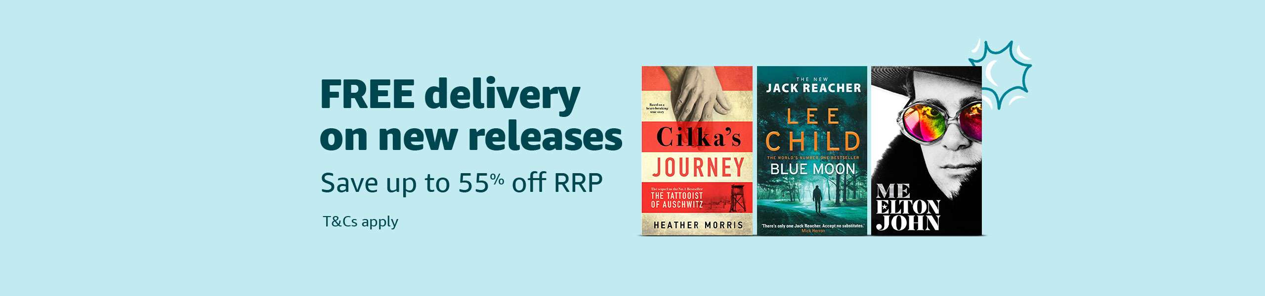 FREE delivery and up to 55% off RRP on eligible books