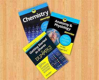 Up to 40% off RRP on select dummies titles