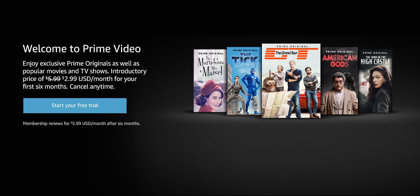 Welcome to Prime Video