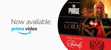 Prime Video. Now available.