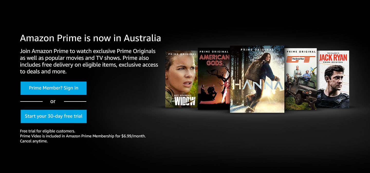 Amazon Com Au Prime Video Everything Else