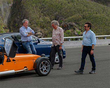 The Grand Tour. Prime Video.