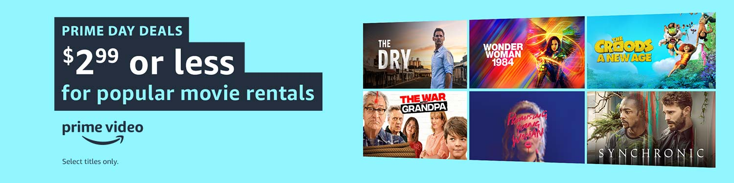 $2.99 or less for popular movie rentals