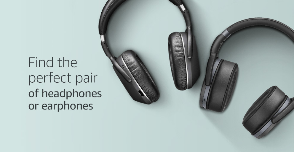 Find the perfect pair of headphones or earphones