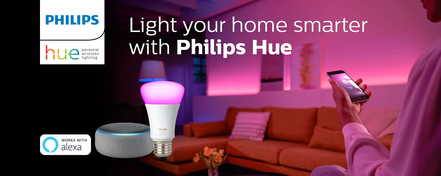 Light your home smarter with Philips Hue