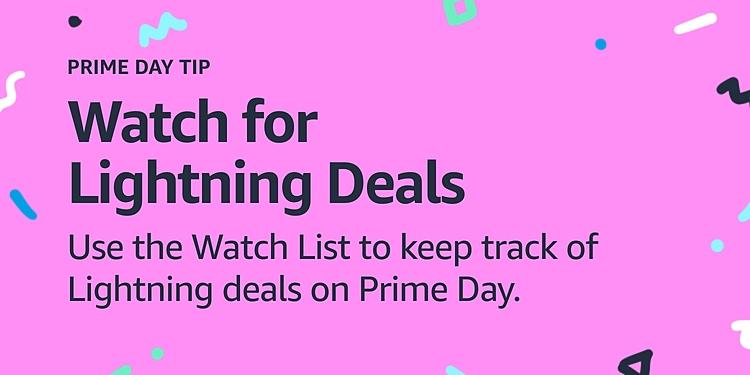 Watch for Lightning deals