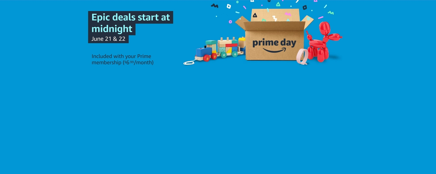 Prime Day: Starts at midnight