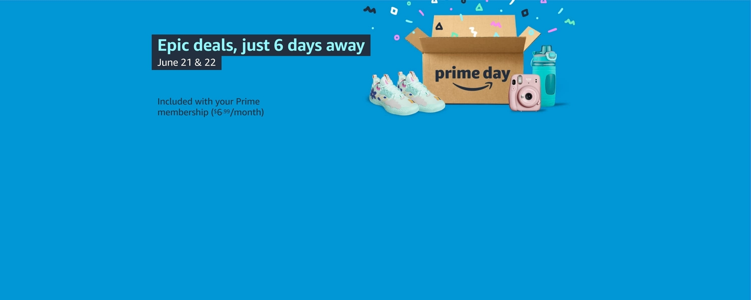 Prime Day: 6 days to go