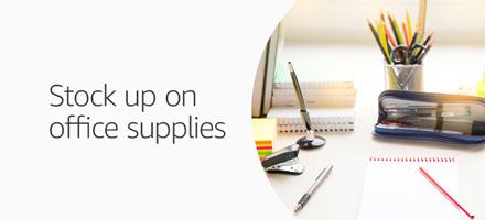 Stock up on office supplies