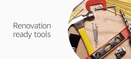 Renovation-ready tools