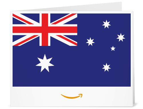 Amazon.com.au gift card design