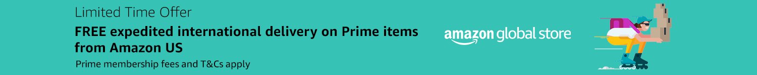 Free expedited shipping from Amazon US