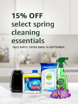 15% off select spring cleaning essentials