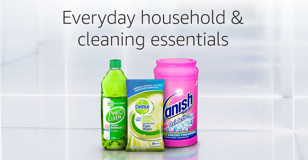 Everyday household & cleaning essentials