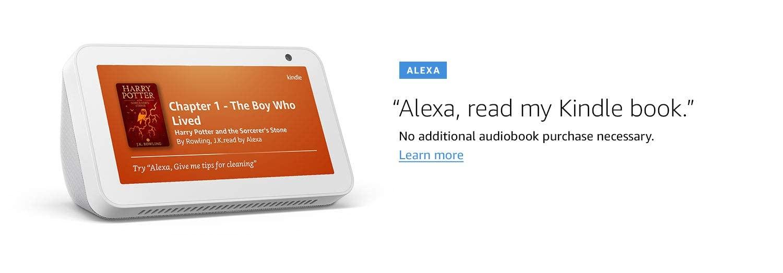 Alexa, No additional audiobook purchase necessary