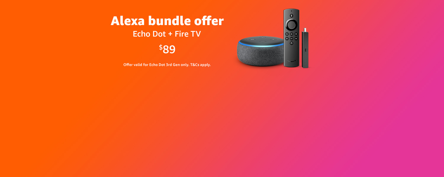 Bundle ad Save on Echo Dot and Fire TV Stick Lite