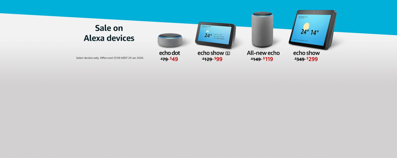Sale on Alexa Devices