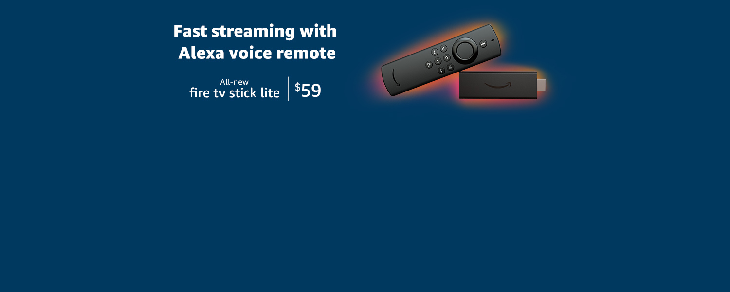 Fast streaming with Alexa Voice Remote