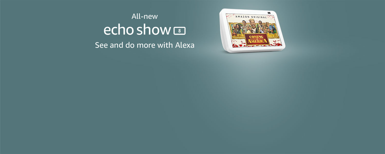 All new Echo Show 8