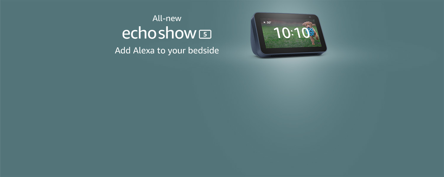 All new Echo Show 5
