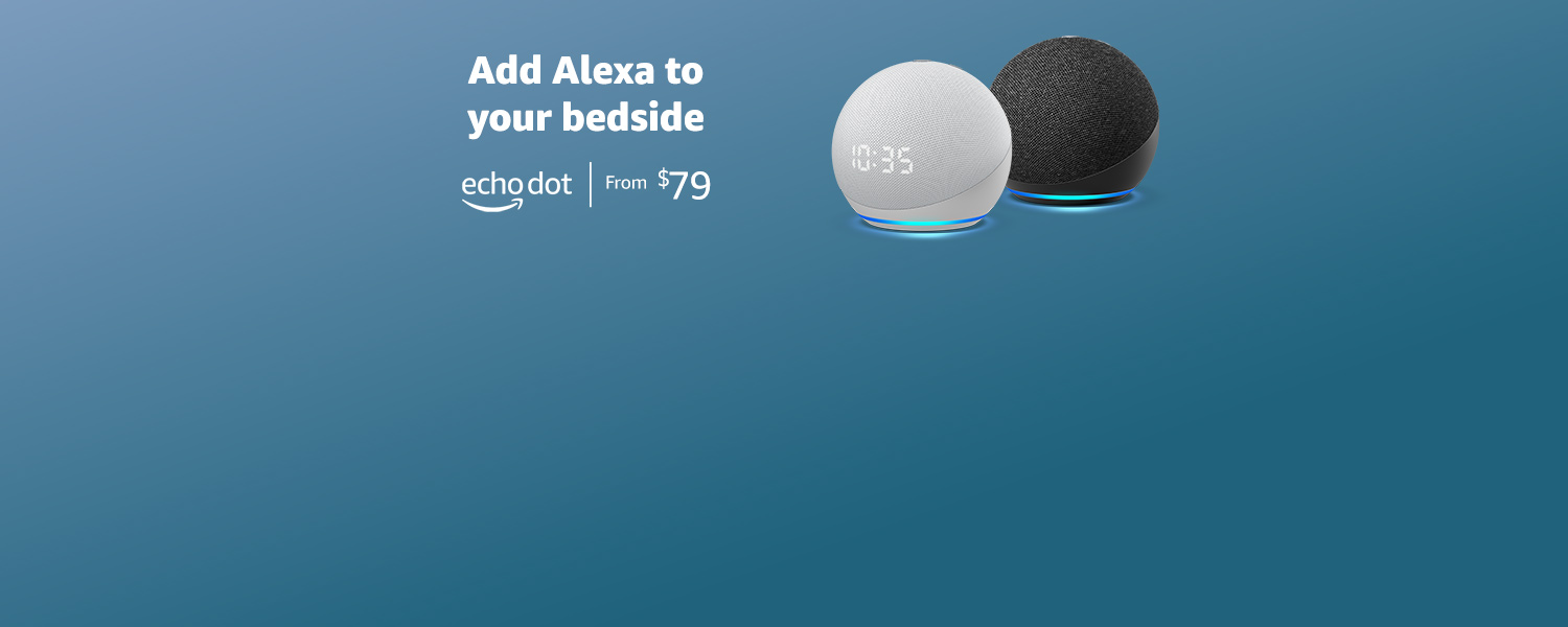 Add Alexa to your bedside