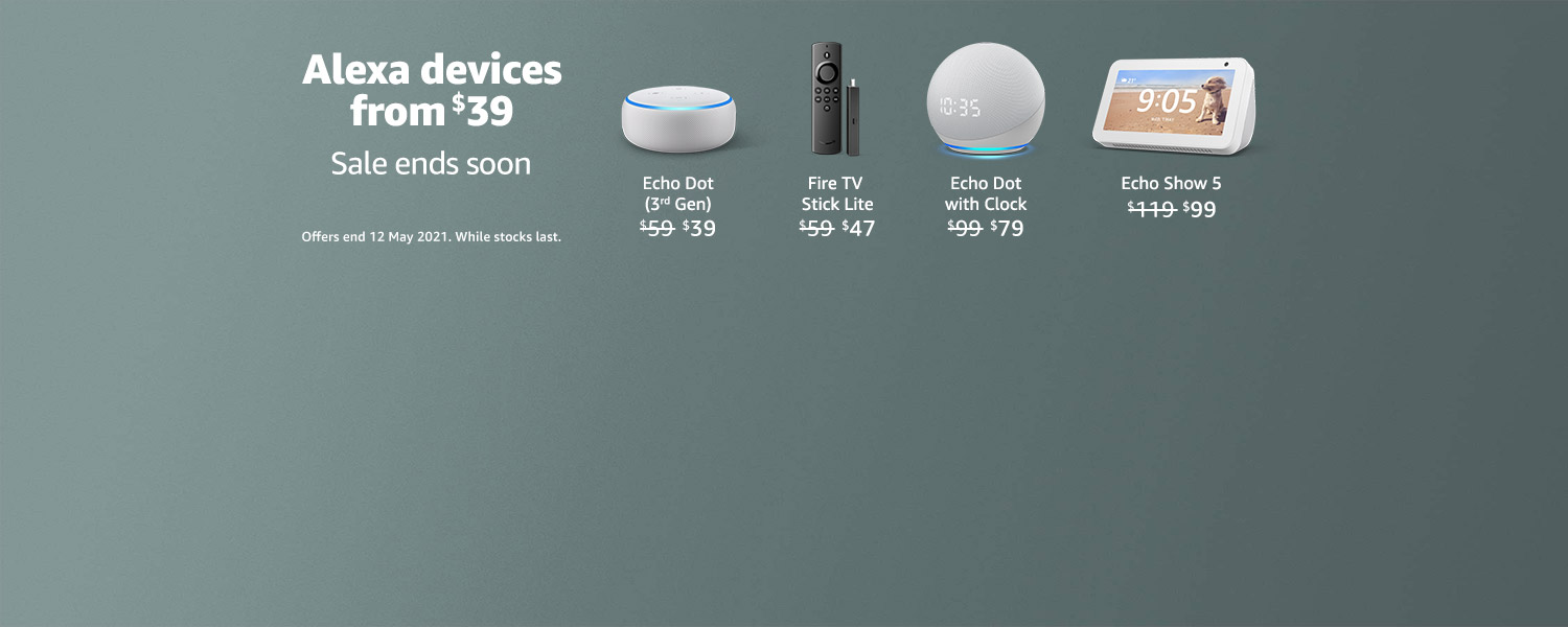 Save on Alexa devices