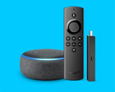 Save on Echo Dot + Fire TV Stick Lite