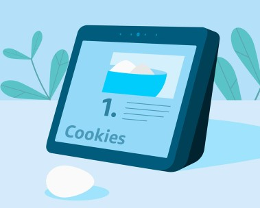 Alexa show me a cookie recipe