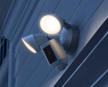 All-new Ring Floodlight Cam Wired Plus