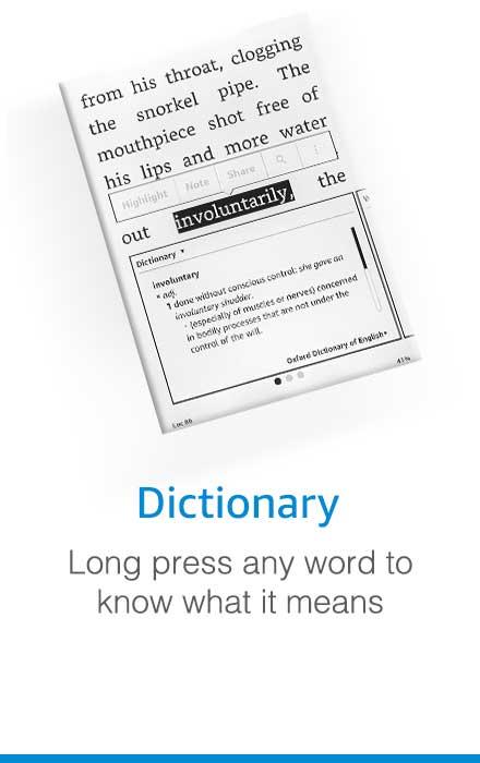 kindle Dictionary