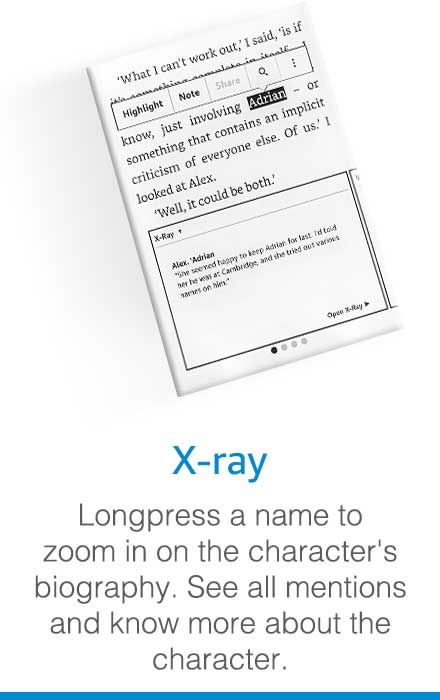 X-ray feature kindle