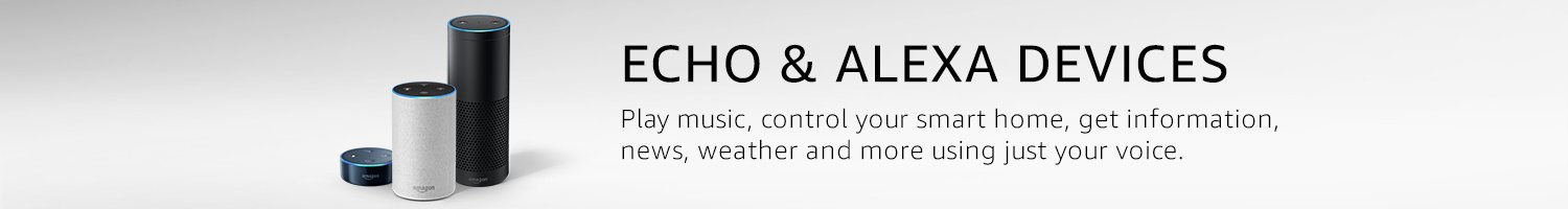 Echo & Alexa devices. Play music, control your smart home, get information, news, weather and more using just your voice.