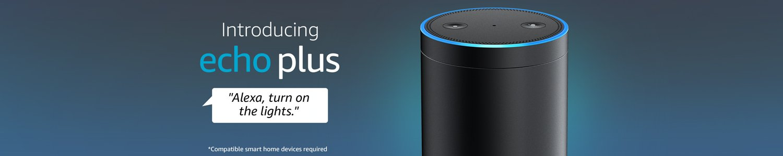 Echo Plus. Alexa dim the lights
