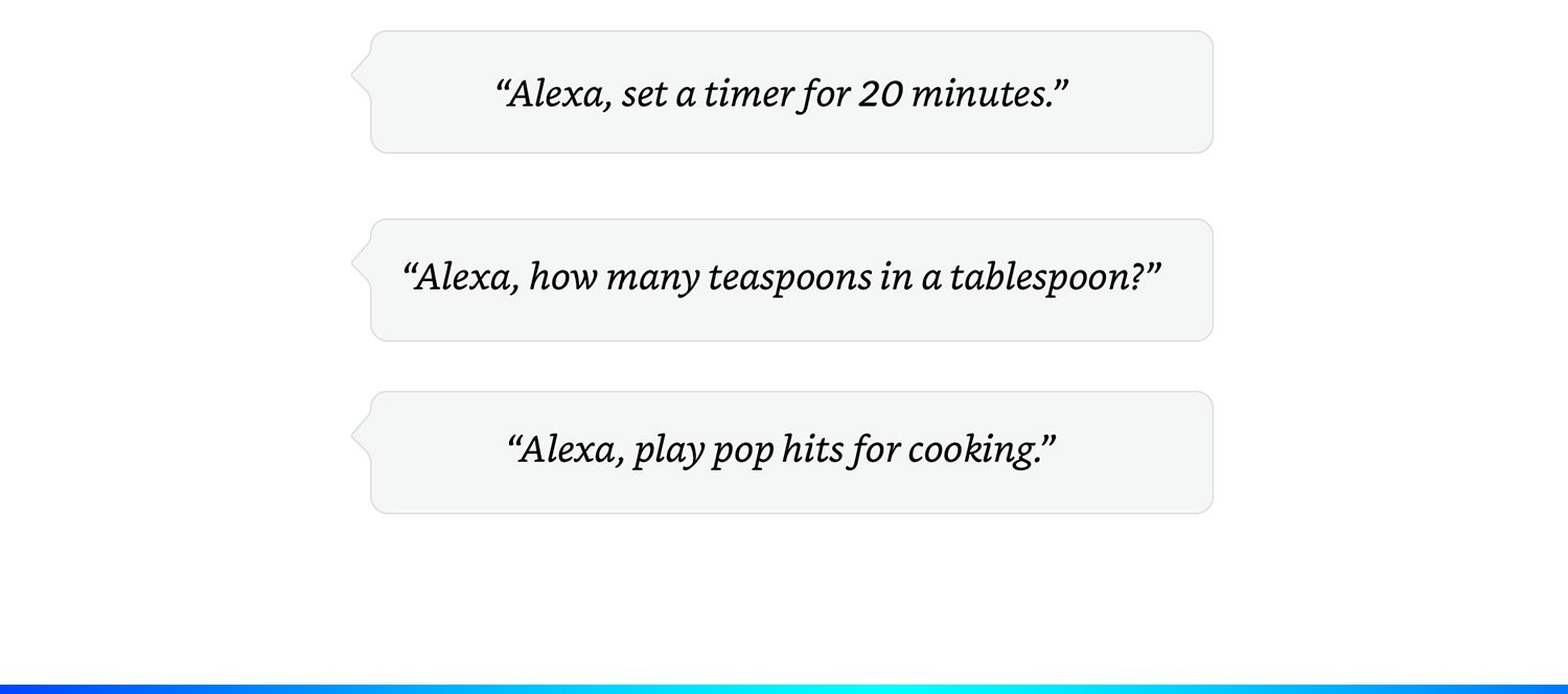 alexa kitchen