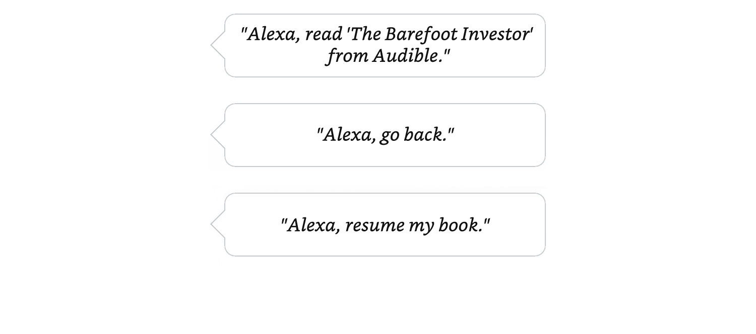 audiobooks audible on alexa