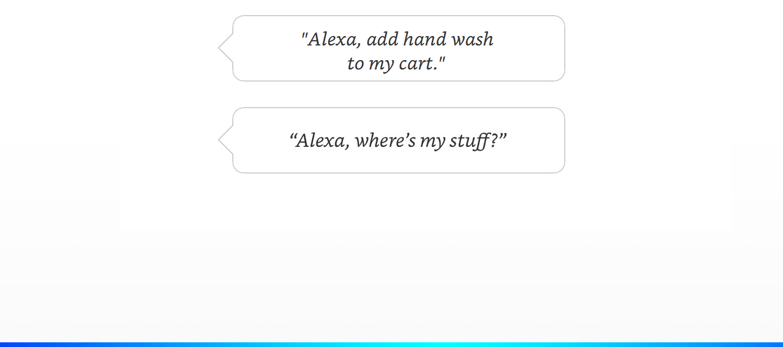 Alexa add to cart