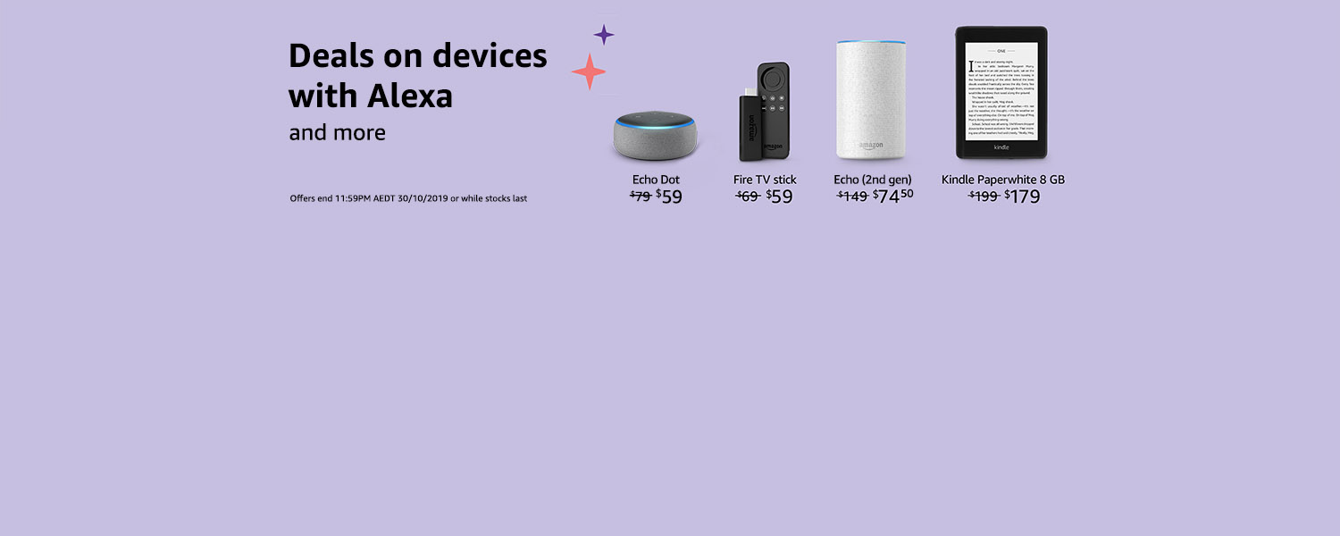 Deals on Devices with Alexa
