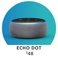 Echo Dot. $48