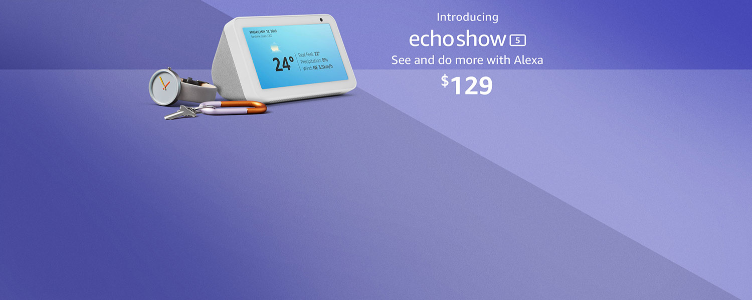 Introudcing all new Echo Show 5